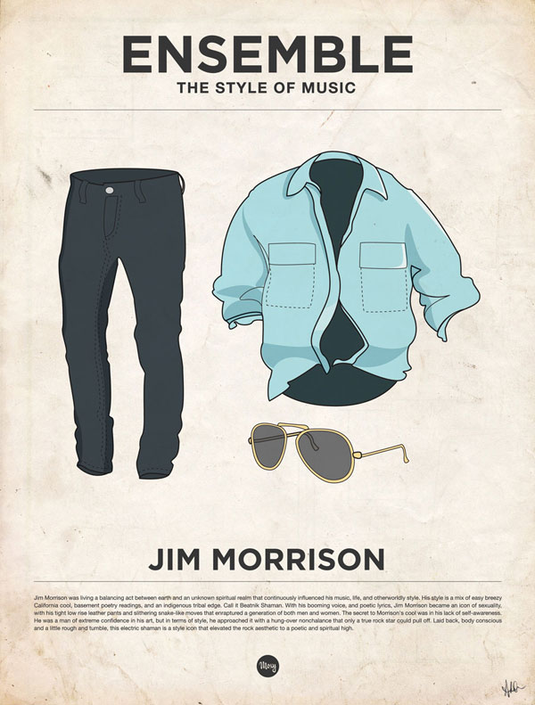 styleofmusic jimmorrison Ensemble: The Style of Music (20 Iconic Male Musicians)