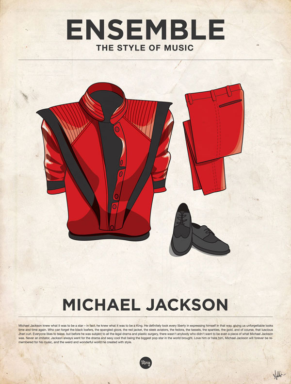 styleofmusic michaeljackson Ensemble: The Style of Music (20 Iconic Male Musicians)