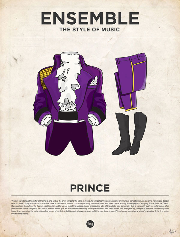 styleofmusic prince Ensemble: The Style of Music (20 Iconic Male Musicians)
