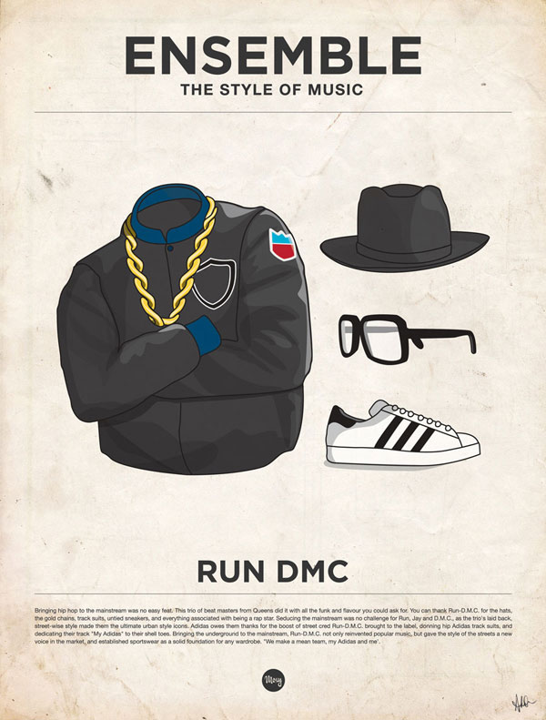 styleofmusic rundmc Ensemble: The Style of Music (20 Iconic Male Musicians)