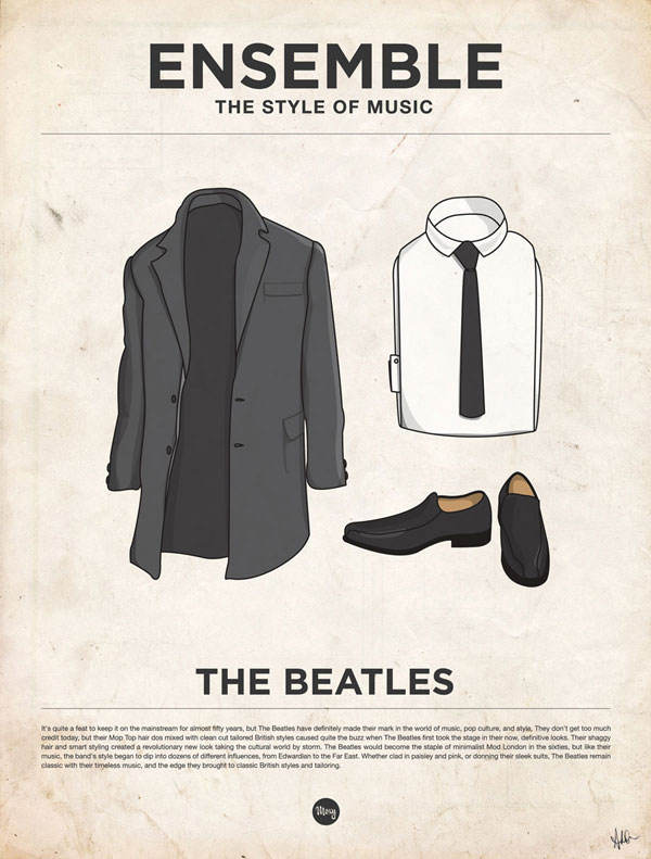 styleofmusic thebeatles Ensemble: The Style of Music (20 Iconic Male Musicians)